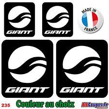 4 Stickers Logo GIANT - Autocollants Adhésifs Cadre Velo Bike VTT Montain - 235