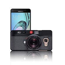 """""""fotocamera nero"""" CASE PER SAMSUNG GALAXY a3, a5 (2016) Hard Cover Retrò Novità"""