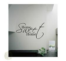 Home Sweet Home Gloss Vinyl Wall Art Decal Sticker
