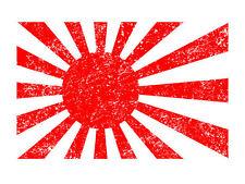 JAPANESE FLAG T-Shirt Retro Asian Art Sushi Japanese Dragon Japan Kaiju cosplay