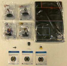 Batman Dc Heroclix completa le op Set 4 Figuras 1 mapa 3 objetos S100 S101 S102