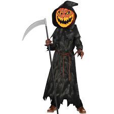 Jack o Cabeza de Calabaza Halloween Vestido de fantasía Traje Disfraz