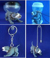 PIT BULL TERRIER #42 HOOD HOUNDS DOG FIGURE DANGLER KEYCHAIN LIGHT FAN LAMP PULL