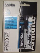 New Araldite Precision Strong Adhesive Glue 2 x15ml Blue