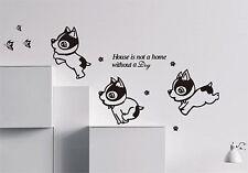 DOG Wall Art Citazioni Adesivo Vinile, fai da te Wall Art Decor/Adesivi Murali-alta qualità