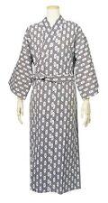 "Japanese Traditional Relax Wear ""YUKATA"" Onsen Kimono with Obi Belt Pattern #2"