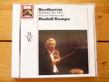 BEETHOVEN Symphony No.4 & 5 Rudolf Kempe  Münchner Philharmoniker EMI CD RAR!