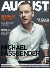August Man magazine MICHAEL FASSBENDER,David Beckham,Lorenzo Rudolf,Berenice
