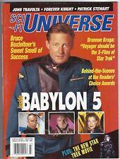Sci Fi universe Magazine March 1996 Babylon 5 Star Trek