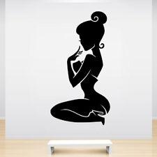 Sticker Décoration Silhouette Femme Sexy, (10x5 cm à 50x26 cm)