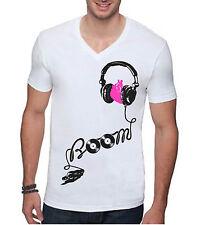 Boom T-Shirt EDM DJ Club Rave Electro Techno EDC Vegas WMC Ultra