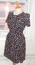 Baylis Knight Liquorice Allsorts Short Sleeve 60's TUNIC Dress Handmade UK Gift