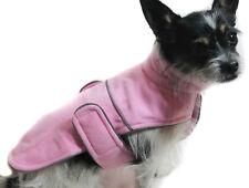 Hundejacke Hund Mantel S M L XL XXL Weste pink Neu Winter warm
