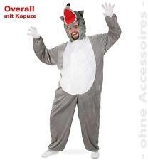 Wolfskostüm Kostüm L XXL 2. Wahl Karneval Wolf Overall Tierkostüm 121080013
