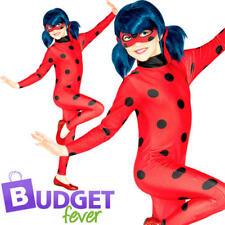 Miraculous Ladybug Kids Fancy Dress World Book Day Superhero Girls Child Costume