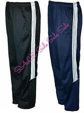 Men's New Tracksuit Bottoms Trouser Sports Pants Stripes Gym Jogging Plus Size