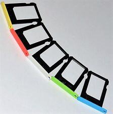 iPhone 5c SIM-Halter Nano weiß blau grün pink gelb tray Schlitten Schacht