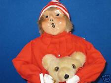 Byers Choice 1988 Pajama Boy with Candle & Teddy