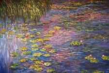 Monet, Seerosen - Keilrahmenbild auf Leinwand
