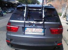 PORTABICI POSTERIORE X 3 BICI PER BMW X5 ANNO 2010 X BICI UOMO DONNA MB SPECIALI