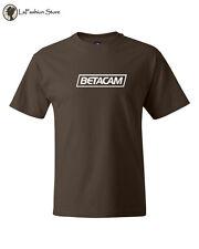 BETACAM Tee Retro 1980s Retro video tape Shirt T-Shirts Quality Tees