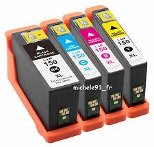 4 cartouches d'encre COMPATIBLE Lexmark 150XL 14N1614E S310 S315 S410 S415 S515