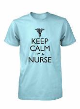 Hot4TShirts Keep Calm I'm A Nurse Funny T-Shirt For Men