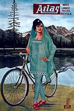 ATLAS VINTAGE BICYCLE AD T-Shirt Hommes & femmes. tailles enfants vélo classique tee