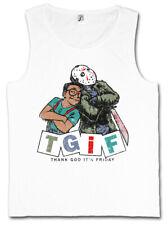 Magnifique I Men Tank Top Thank god it 's Friday Family Steve Jason Urkel Fun Matters