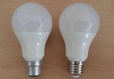 9W LED GLS BC B22 ES E27 Pearl Lampadine Caldo / Freddo Bianco 1 2 4 10 60W a buon mercato!