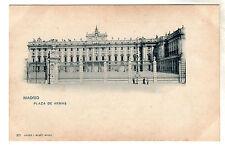 Plaza De Armas - Madrid Photo Postcard c1899