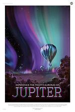 Jupiter la NASA espace tourisme espace tirage Poster