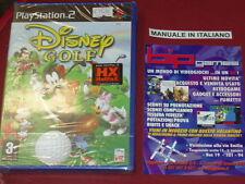 DISNEY GOLF PS2 PLAYSTATION 2 PAL NUOVO SIGILLATO