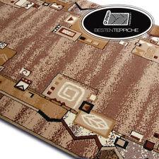Modern Cheap Runner Bcf Tracks Beige Geometric, Abstract Width 60-250 CM