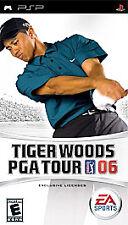 Tiger Woods PGA Tour 06 (Sony PSP, 2005) - UMD DISC ONLY