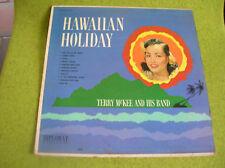 LP HAWAIIAN HOLIDAY-TERRY McKEE AND HIS BAND-DIPLOMAT