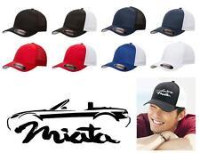 2005-08 Mazda Miata Sports Car Classic Color Outline Design Hat Cap