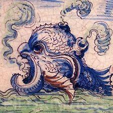 Delft Sea Monster Ceramic Tile Fireplace Kitchen Bathroom Splashback