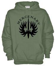 Felpa Mercenary J602 Legione Stranira Forze Speciali Hoodie Fregio Esercito