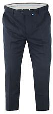 BIG SIZE da Uomo Stretch Vestito Pantaloni / Pantaloni con vita Extenda 38-60 S R L