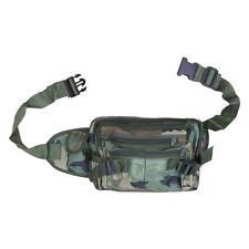 Ejército de combate militar de viaje de utilidad en la cintura Pack Bum Bag dinero cinturón excedente Camo