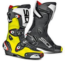 SIDI magnético UNO 1 AJUSTABLE MOTO botas de deporte no ZIP NEGRO FLUORESCENTE