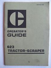 CATERPILLAR  627  TRACTOR-SCRAPER  OPERATOR'S GUIDE
