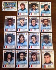 Panini stickers espana 82 all France Team Mint high grade choose sticker