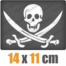 Piraten Schädel csf0472 14 x 11 cm JDM  Sticker Aufkleber