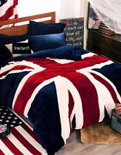 Copri Piumone Lenzuolo Federe UK Flag Pile Copripiumone Duvet Cover BED0051 B