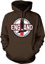 England Flag Ball Born From English Country Outline GBR Team Hoodie Sweatshirt