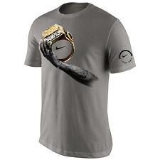 Nike Lebron James Finals 2016 Celebration Champion Ring T-Shirt Light Gray Grey