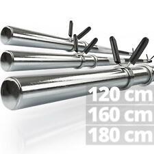 ScSPORTS® Langhantelstange Langhantel Hantelstange 30 mm Federverschluss