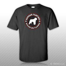 Danger Farting Bouvier des Flandres T-Shirt Tee Shirt Free Sticker dog canine